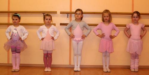 Ballett klein mit Kenntnissen