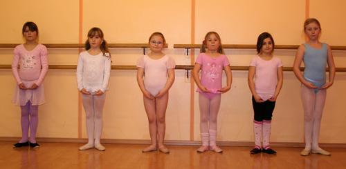 Ballett Mittel - Anfänger / Mittelstufe