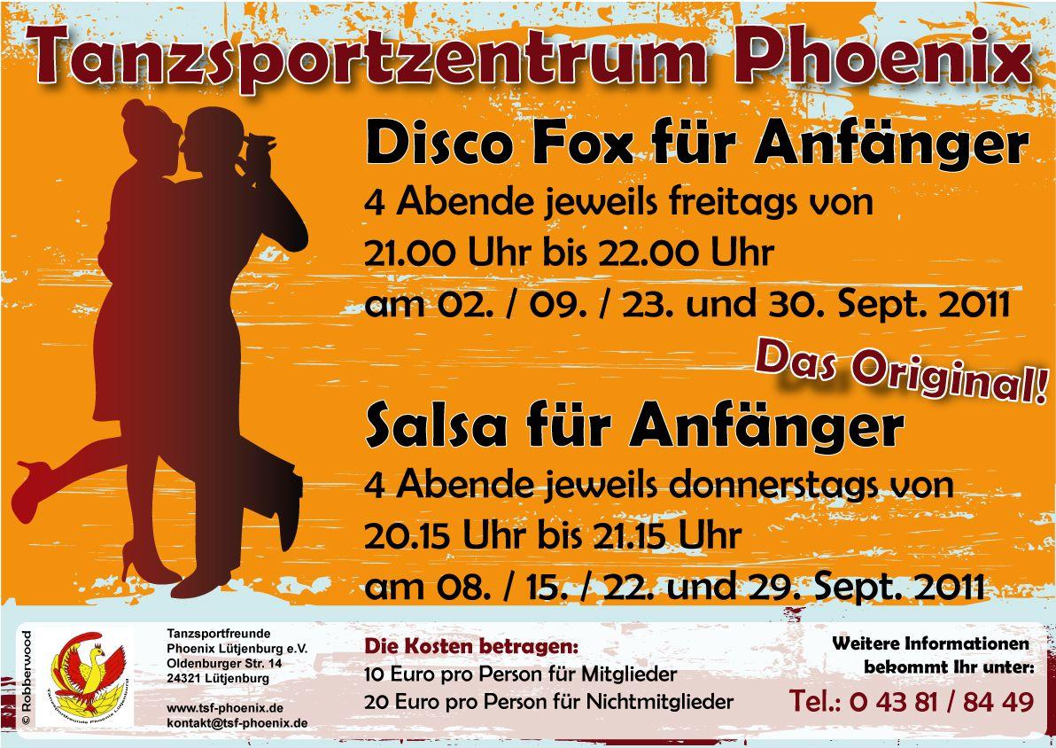 Disco Fox und Salsa